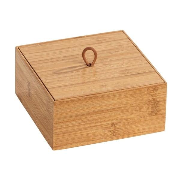 Bambusový box svíkem Wenko Terra, šířka15cm