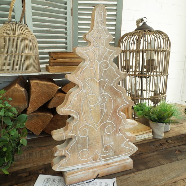 Dřevěná dekorace Orchidea Milano Xmas Tree