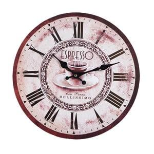 Nástěnné hodiny Espresso