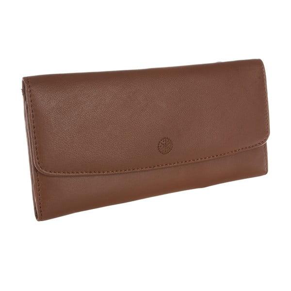 Dámská kožená peněženka Imogen Tan Leather Purse