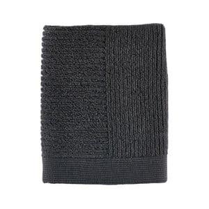 Černý ručník Zone Simple, 50x70cm
