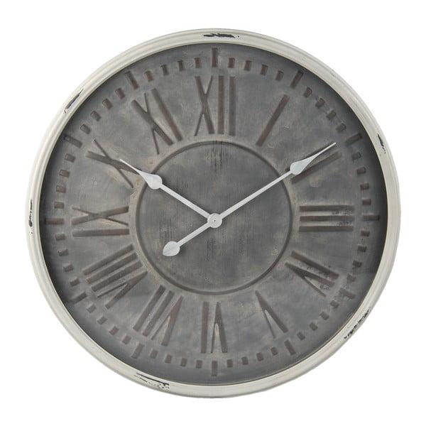 Nástenné hodiny Clayre & Eef Gris, ⌀60 cm