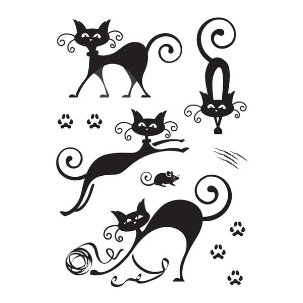 Samolepka Cute Cats