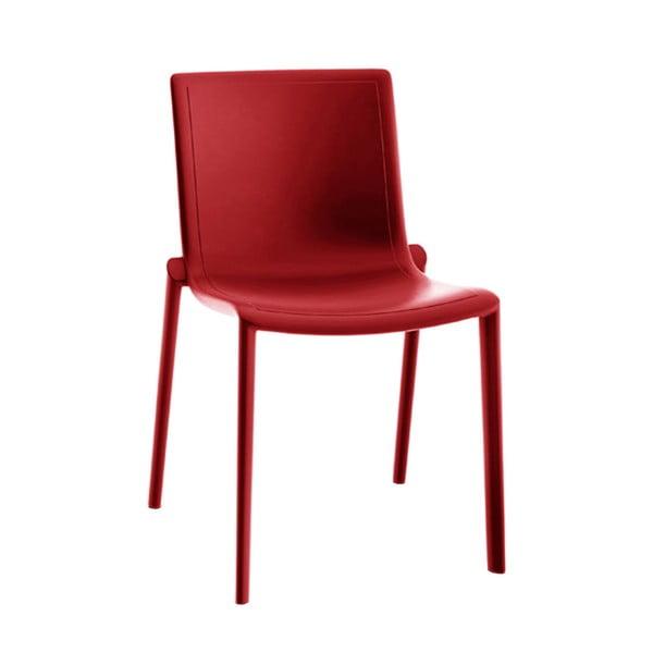 Sada 2 červených zahradních židlí Resol Kat