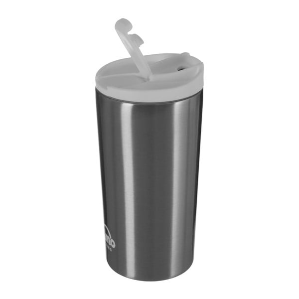 Sticlă termos Premier Housewares, 250 ml, gri-alb