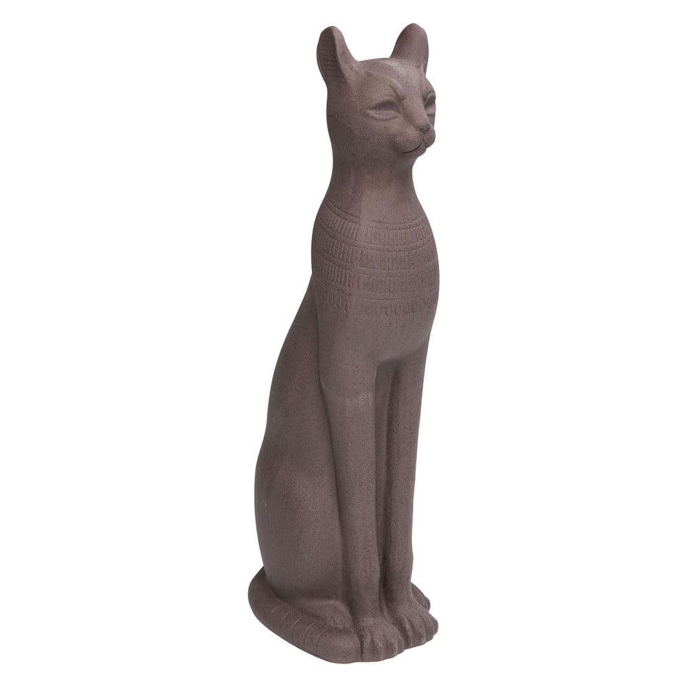 Dekorativní socha kočky z kameniny Kare Design Cat, 77 cm