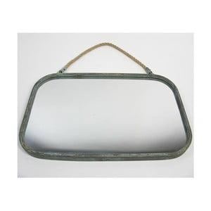 Zrcadlo s provazem Blue Patine, 54,5x35x2,5 cm