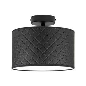 Černé stropní svítidlo Bulb Attack Trece, ⌀ 25 cm
