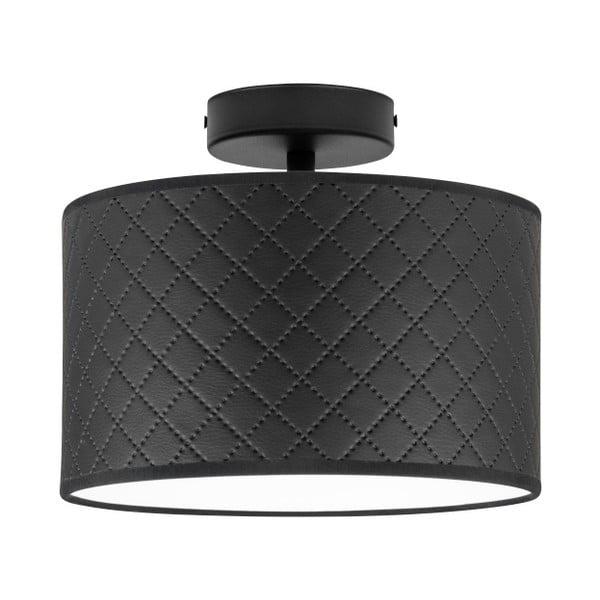 Czarna lampa sufitowa Bulb Attack Trece, ⌀ 25 cm