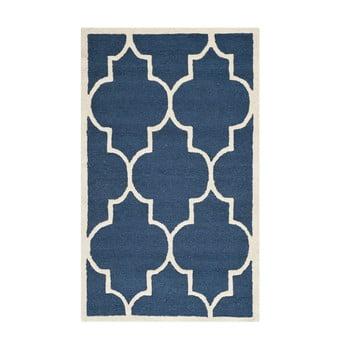 Covor Safavieh Everly, 152 x 91 cm, albastru de la Safavieh