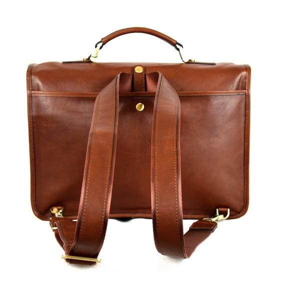 Kožená taška Santo Croce 108719BIS Brown