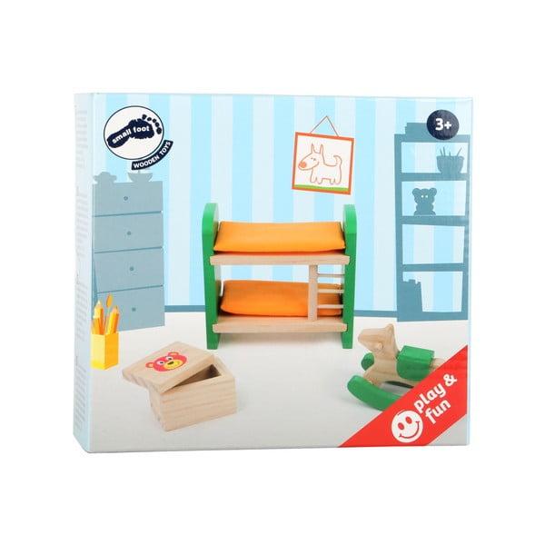 Set dreveného nábytku pre bábiky Legler Children's Room