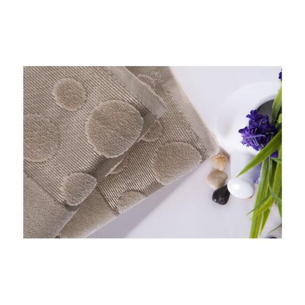Set dvou ručníků Tropical Beige, 50x90 cm