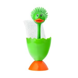 Set na mytí nádobí Kachnička, zelená