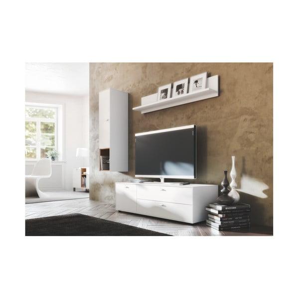 Bílá nástěnná polička Germania Design2