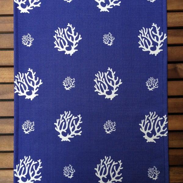 Běhoun na stůl Dark Blue Coral