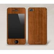 Oboustranný dřevěný kryt na iPhone 5, ořech