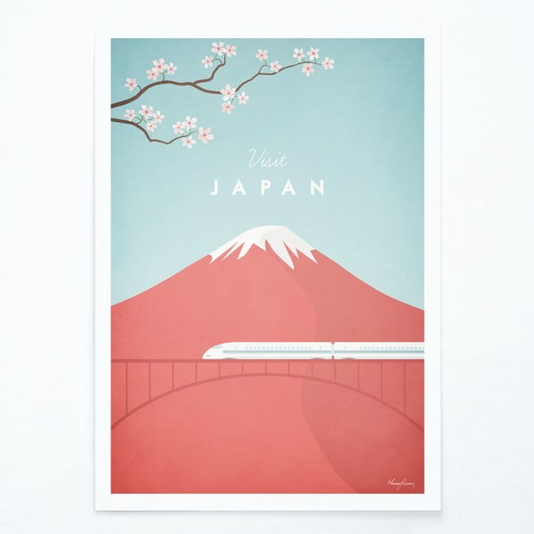 Poster Travelposter Japan, A3