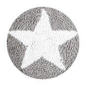 Pernă din bumbac Happy Decor Kids Star, ⌀ 30 cm, gri