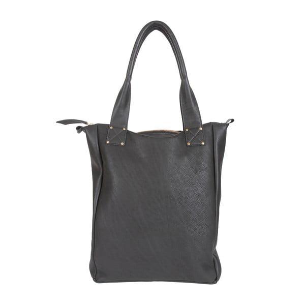 Kožená taška Lynn Black