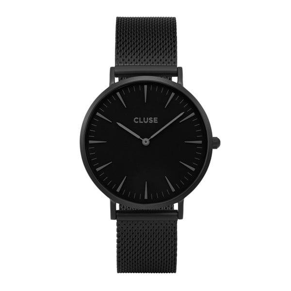Czarny zegarek unisex Cluse La Boheme