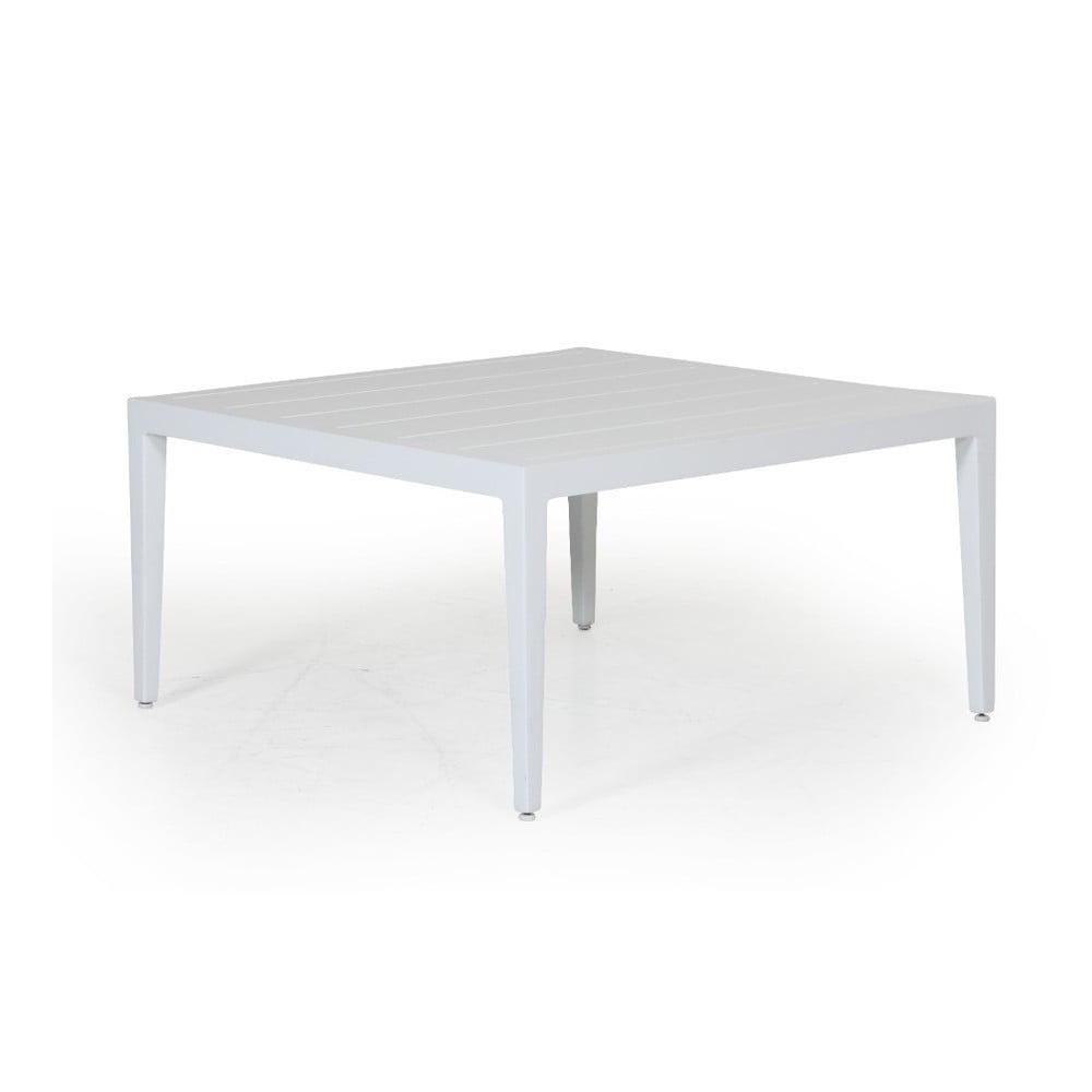 Bílý zahradní stolek Brafab Mackenzie, 77x77cm