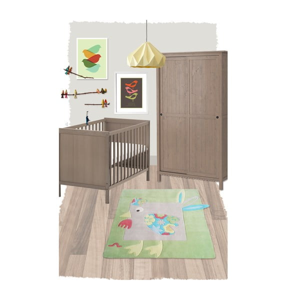 Dětský koberec Nattiot Lola, 130x130cm