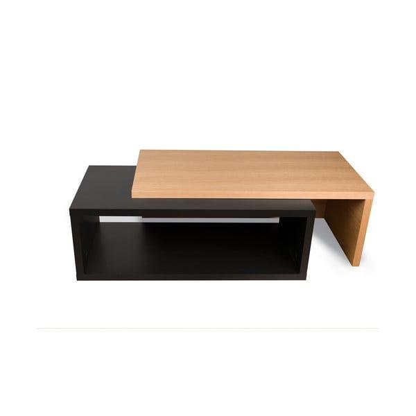 Jazz dupla dohányzóasztal, 45 x 33 cm - TemaHome