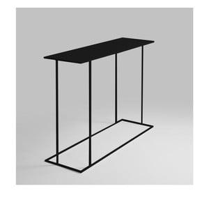 Černý konzolový stolek Custom Form Walt