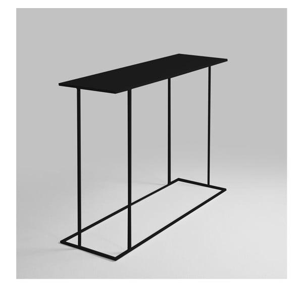 Walt fekete konzolasztal - Custom Form