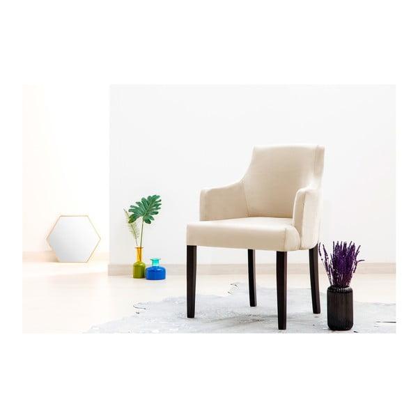 Sada 2 světle šedých židlí Vivonita Reese