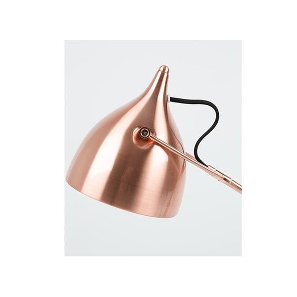Stolní lampa v měděné barvě Zuiver Reader