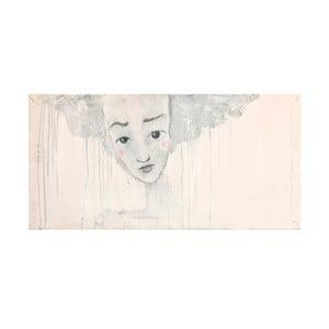 Autorský plakát od Lény Brauner liška.je.lena, 32x60 cm
