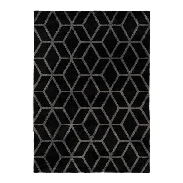Černý koberec Universal Play, 200 x 290 cm