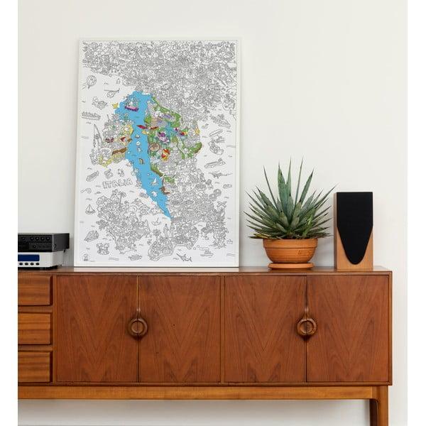 Omalovánka OMY Italia (70 x 100 cm)