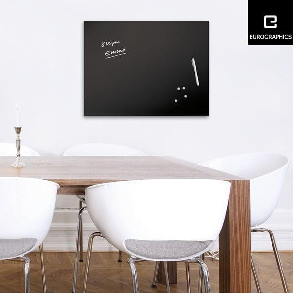 Magnetická tabule Eurographic Memo Black, 60x80cm