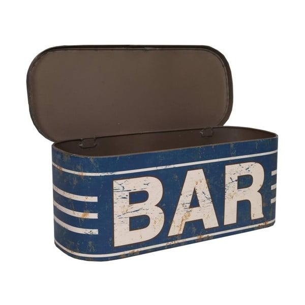 Plechová krabice Bar