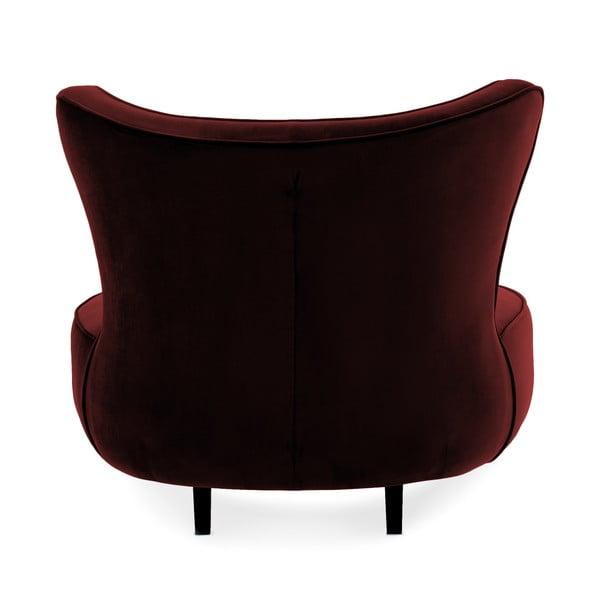 Fotoliu Vivonita Douglas Love Seat, roșu închis