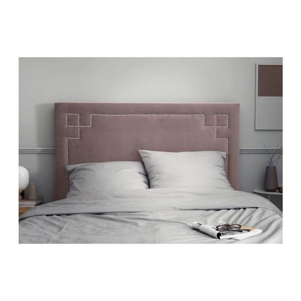 Levandulově fialové čelo postele THE CLASSIC LIVING Nicolas, 140 x 120 cm