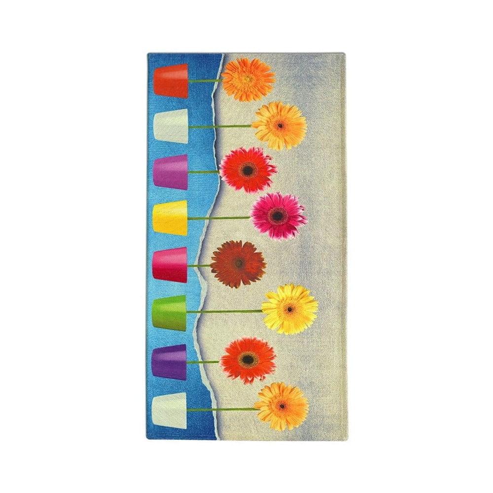Běhoun Floorita Flower Power, 60 x 240 cm