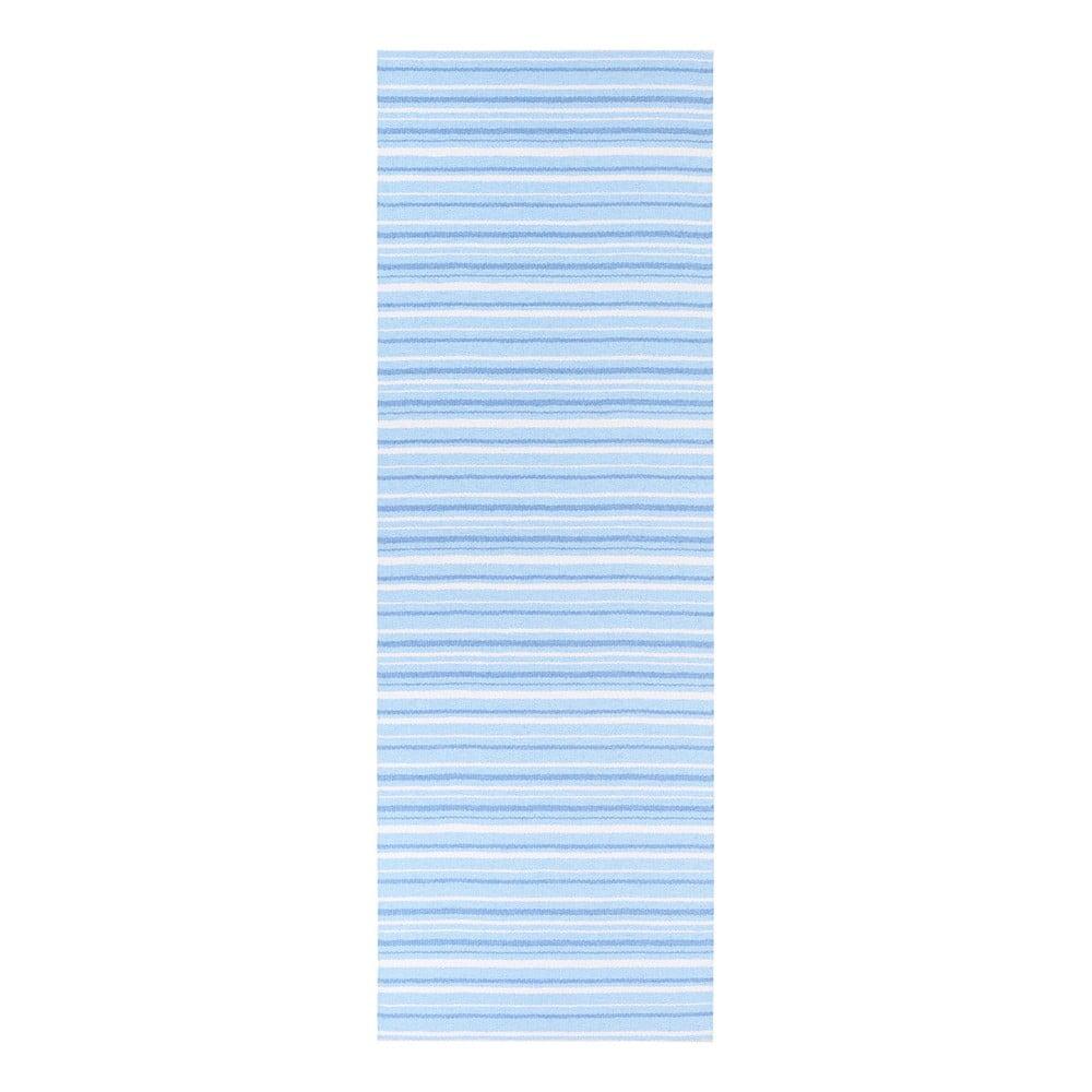 Modro-bílý koberec vhodný do exteriéru Narma Hullo, 70 x 100 cm