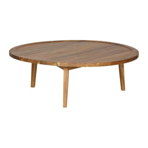 Prírodný konferenčný stolík vtwonen Sprokkeltafel, ⌀ 100 cm