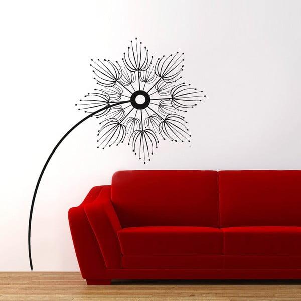 Samolepka na zeď Abstraktní květina, 70x50 cm