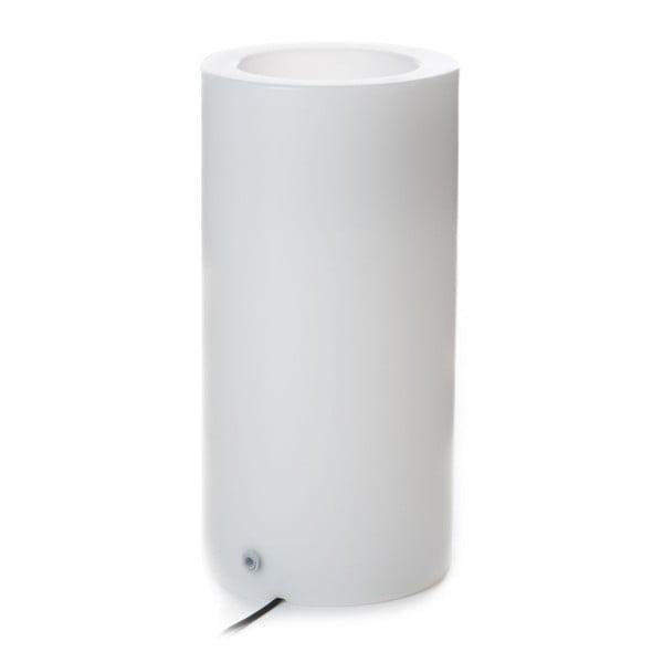 Ghiveci luminat Tomasucci Stem, Ø 35 cm, alb