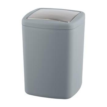 Coș de gunoi Wenko Barcelona L, înălțime 28,5 cm, gri imagine