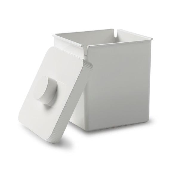 Odpadkový koš Kali, 10 l, bílý