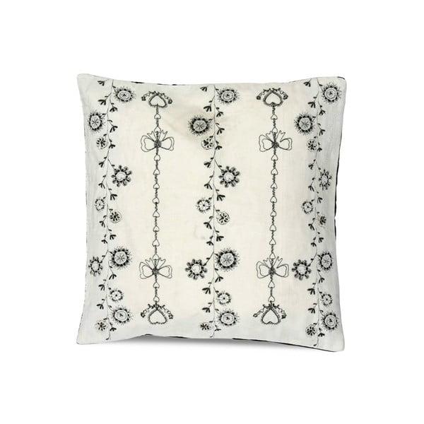 Polštář Chain Embroidery, 50x50 cm
