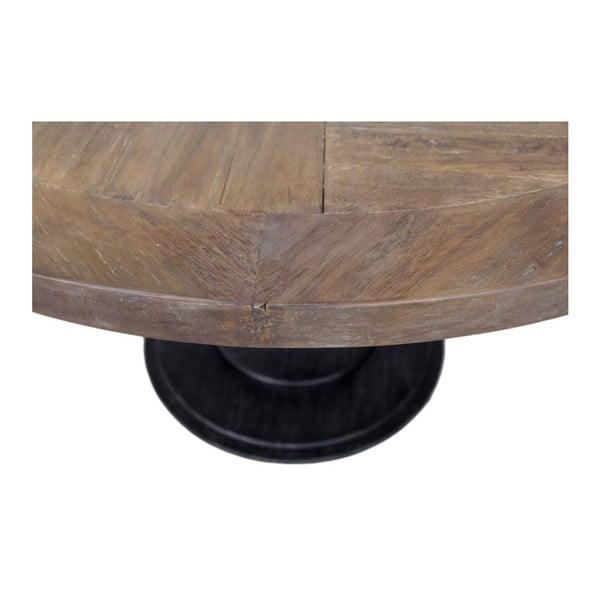 Kulatá deska stolu z teakového dřeva HSM collection, ⌀ 130 cm