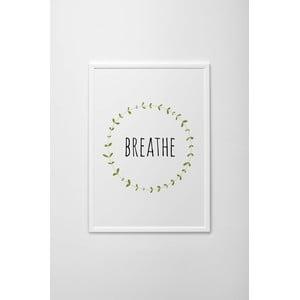 Autorský plakát Breathe, vel. A4