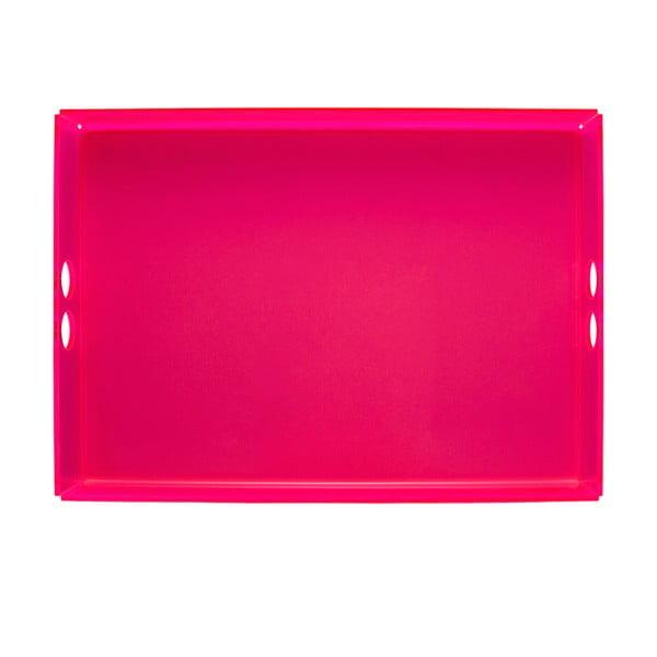 Podnos Tray Pink, 30x41 cm